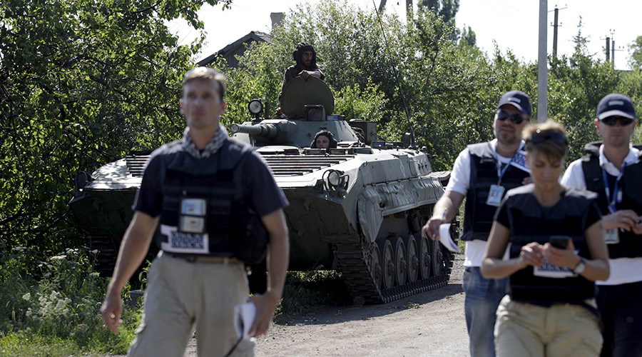 OSCE saw no military hardware, weaponry crossing from Russia to Ukraine – mission head