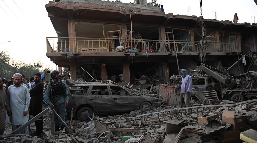 At least 8 killed, 400 injured after massive explosion rocks central Kabul