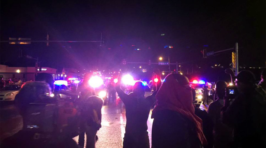 Man shot by Ferguson police in 'critical, unstable' condition - St. Louis County (PHOTOS, VIDEO)