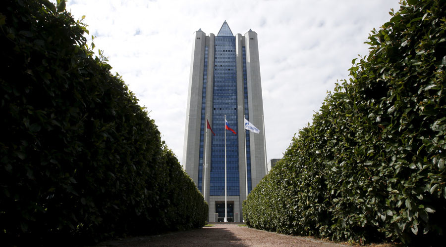 Gazprom profit jumps 71% as ruble drops