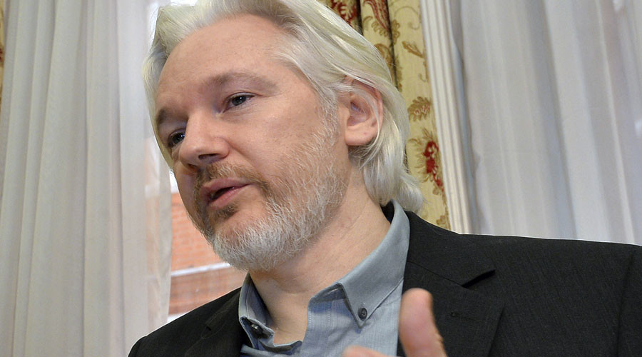 WikiLeaks founder Julian Assange. ©