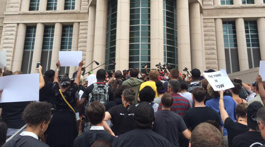 State of emergency declared in St. Louis County; activists arrested at federal courthouse