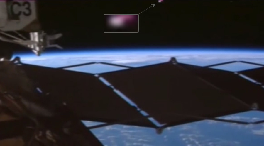 Could NASA be hiding 'proof that ISS is being monitored by aliens'? (VIDEO)