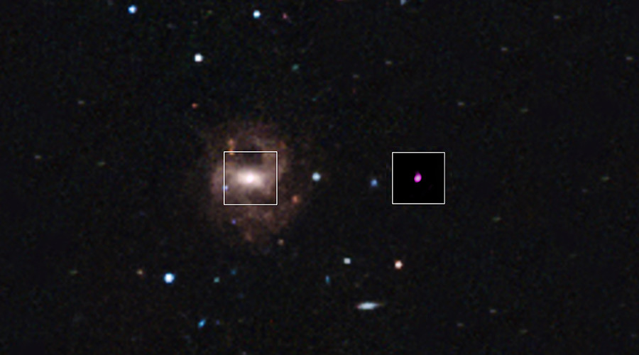 NASA discovers 'smallest supermassive' black hole ever