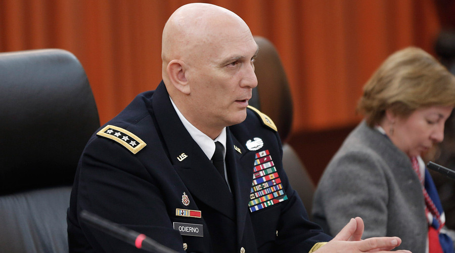 Retiring Army chief suggests US forces return to Iraq – to help fight ISIS