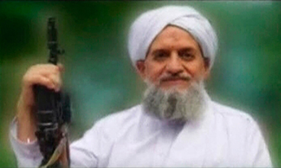 Ayman al-Zawahiri © SITE Monitoring Service via Reuters