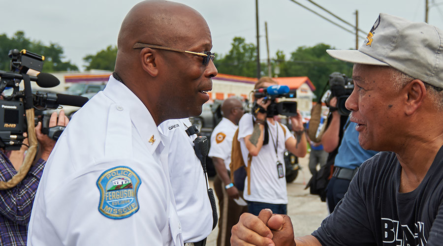 Ferguson police chief hit with claims of fraud, abuse