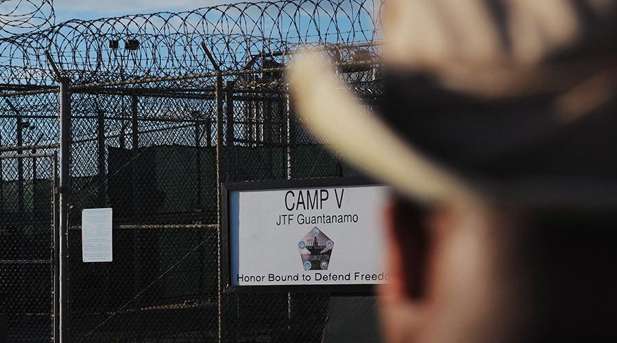 "The outside of the ""Camp Five"" detention facility is seen at U.S. Naval Station Guantanamo Bay © Mandel Ngan"