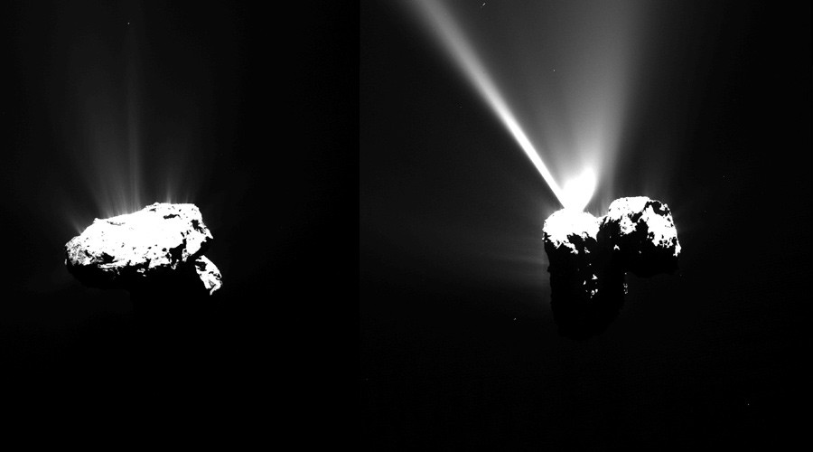 Approaching perihelion © ESA / Rosetta / MPS for OSIRIS Team MPS / UPD / LAM / IAA / SSO / INTA / UPM / DASP / IDA