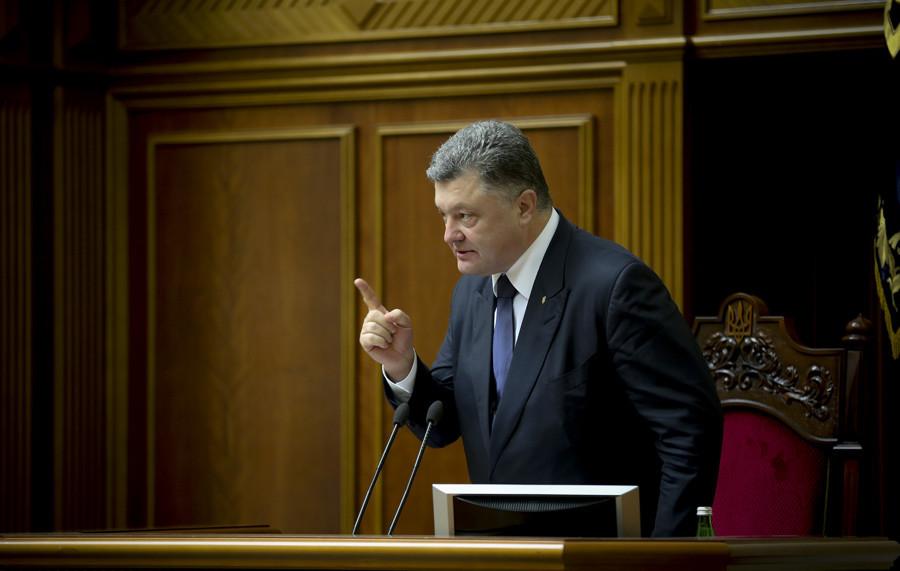 Ukrainian President Petro Poroshenko © Mikhail Palinchak
