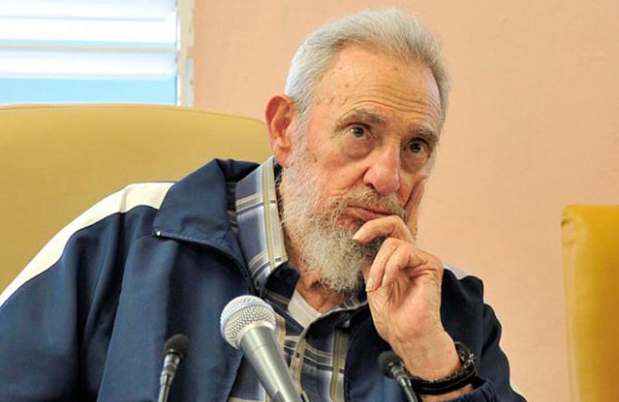 Former Cuban leader Fidel Castro © Courtesy of Cubadebate