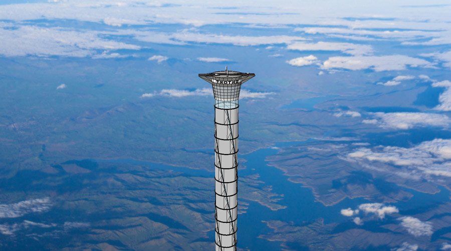 Space age Tower of Babel: Canadian company patents 20km lift to heavens