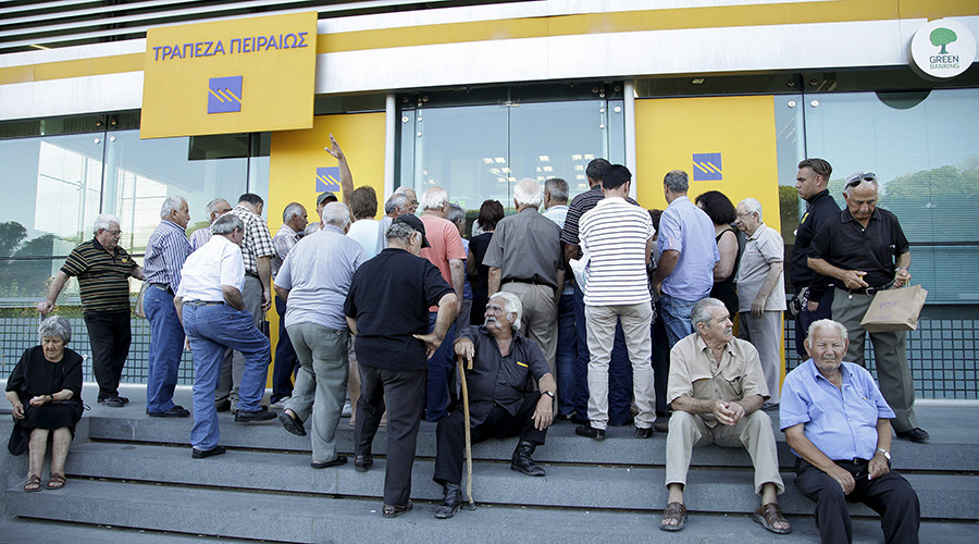 Greek bank bonds collapse on bailout promises