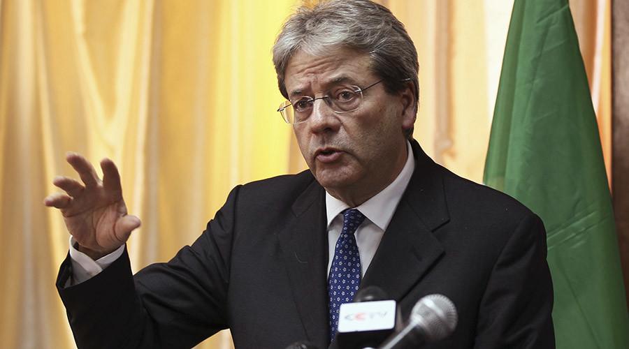 Italy's Foreign Minister Paolo Gentiloni. © Tiksa Negeri