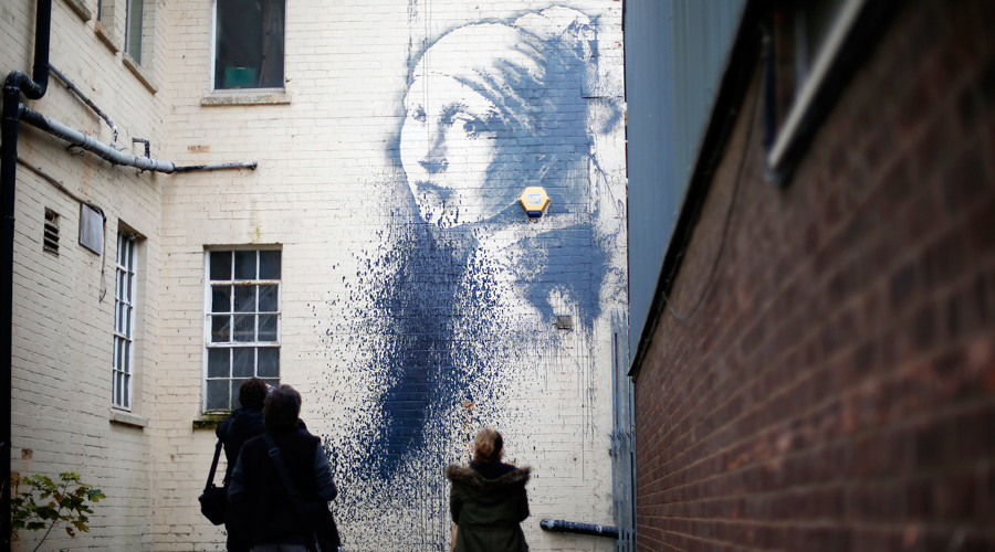 Secret Banksy 'Dismaland' exhibition rumored in west of England