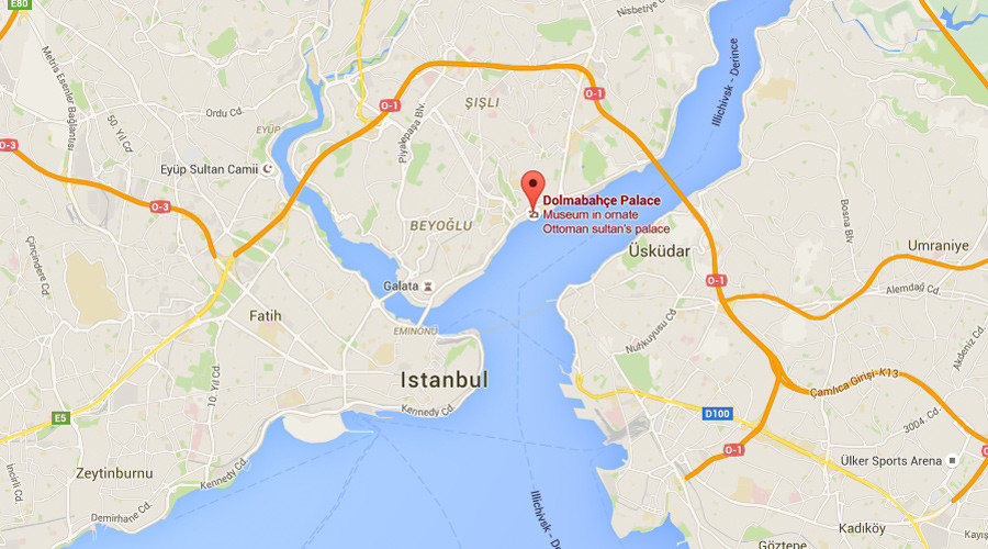 2 gunmen arrested after shootout outside Istanbul's Dolmabahce Palace