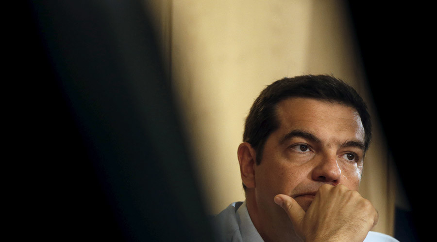Greek Prime Minister Alexis Tsipras © Christian Hartmann