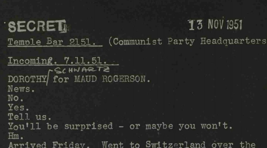 MI5 spied on suspected communists & anti-colonial leaders, secret files reveal