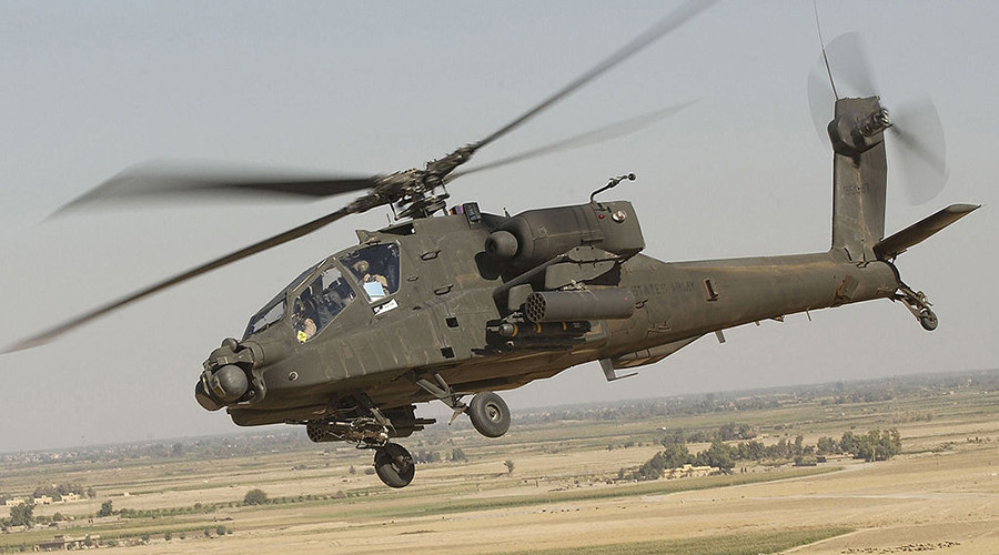 2 pilots killed in Saudi coalition helicopter downing near Yemeni border