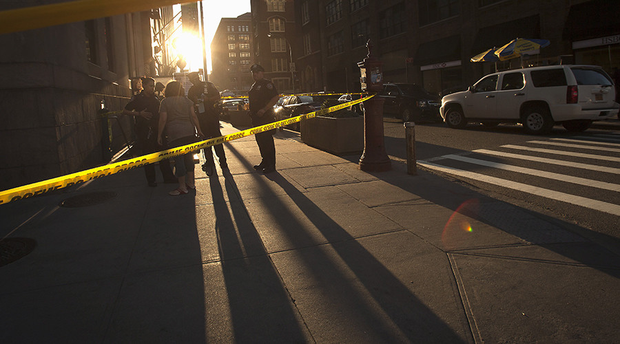 Gunman murders guard, kills self at Manhattan federal building