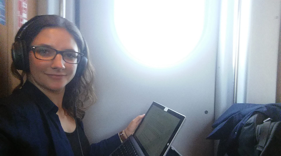 German girl abandons 'ordinary' rented flat to live on trains