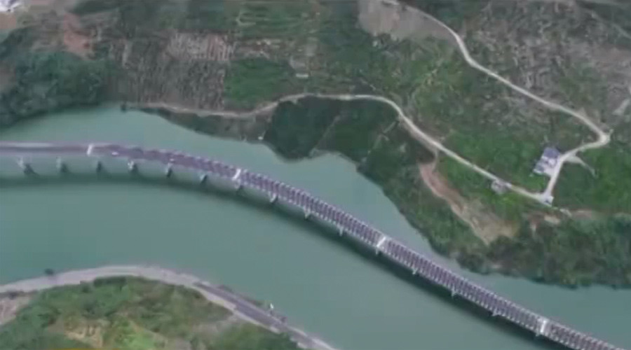 'Overwater highway' costing $70mn launched in central China (PHOTOS)