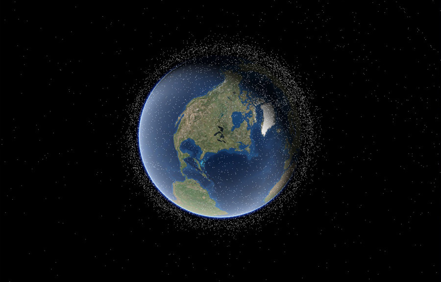 unknown spacecraft orbiting earth - photo #40