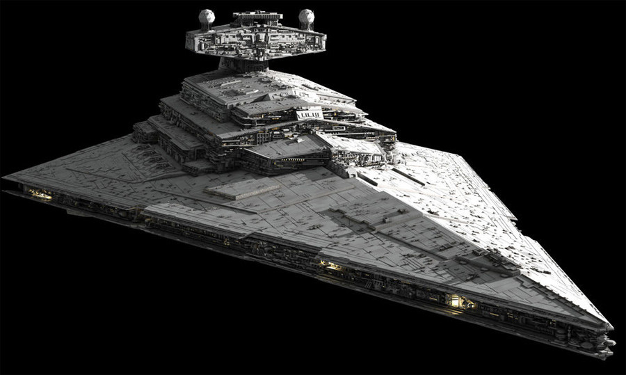 Star Destroyer found on Mars? 'Crashed UFO' resembles famous Star Wars ship 55db22edc3618868528b457e