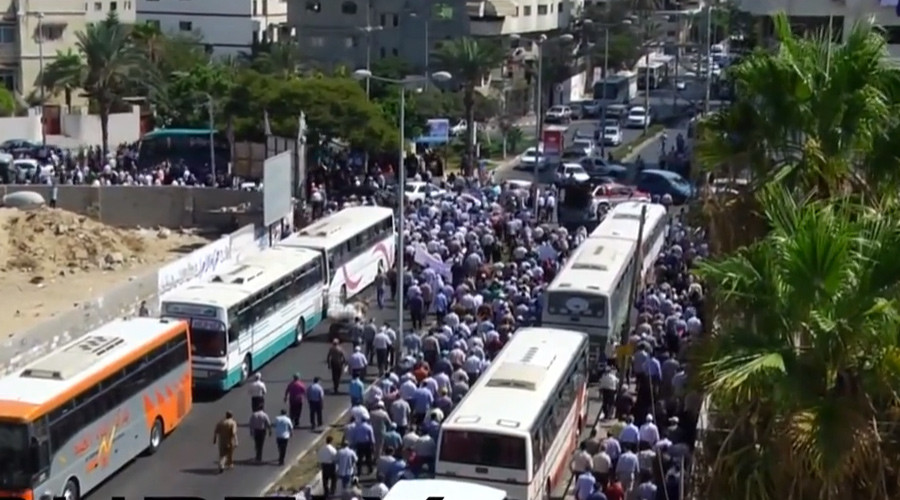 13,000 UN employees protest relief spending cuts in Gaza