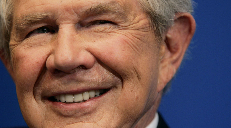 Televangelist politician Pat Robertson blames Black Monday on US support for abortion