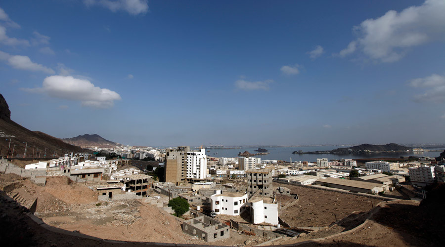 A general view shows the southern city of Aden © Mohamed al-Sayaghi
