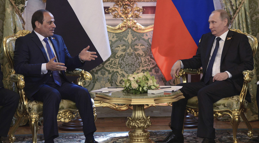 'Nothing to divide Egypt and Russia'