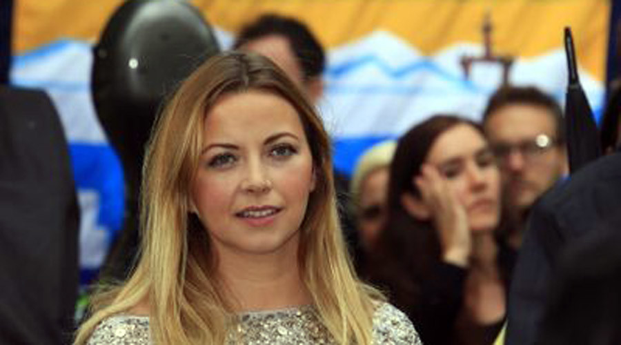 'Disaster waiting to happen': Charlotte Church sings in protest against Shell's Artic drilling