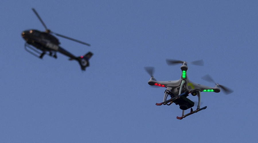 North Dakota to use police drones with non-lethal weapons – report