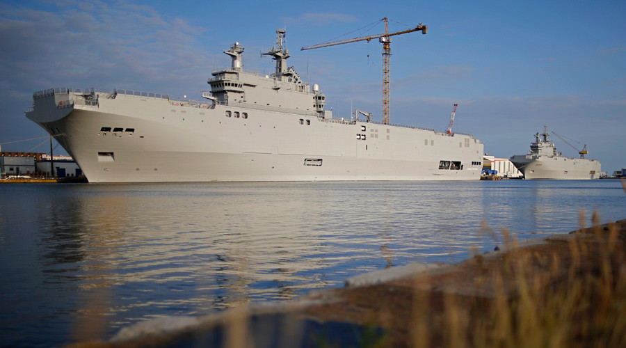 France pays Russia €900mn compensation for Mistral warships - reports