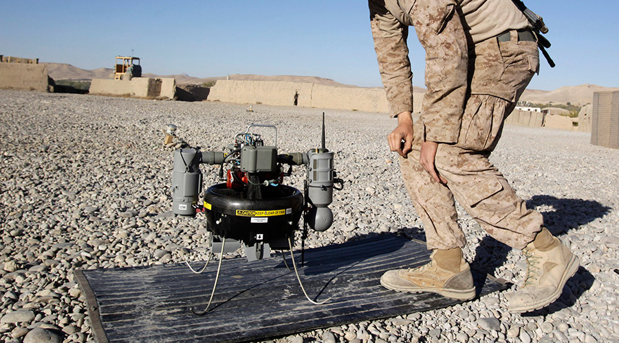 Laser cannon designed to shoot drones out of the sky