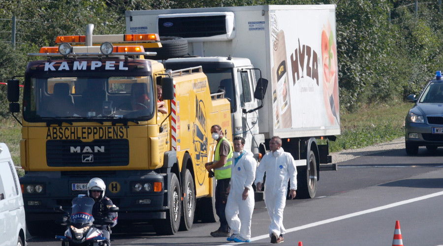 59 men, 8 women & 4 children among 71 migrants found dead in Austria truck - police
