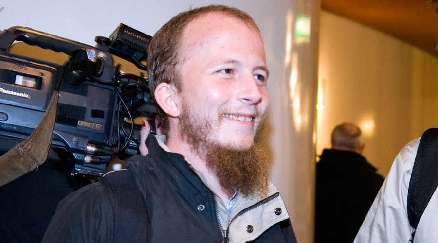Gottfrid Svartholm Warg, the co-founder of Pirate bay © Bertil Ericson