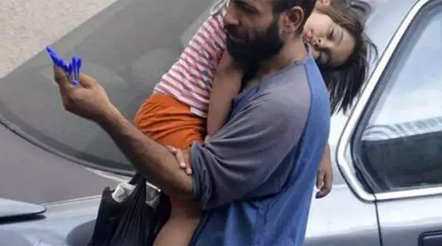Heart-wrenching images of Syrian refugee trigger $100k fundraiser
