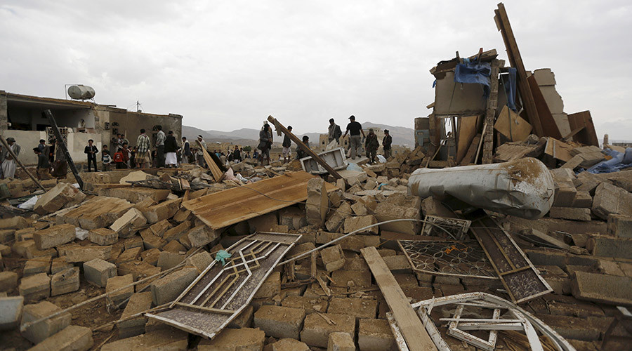 Saudi-led airstrike kills 36 civilians at north Yemen bottling plant - reports