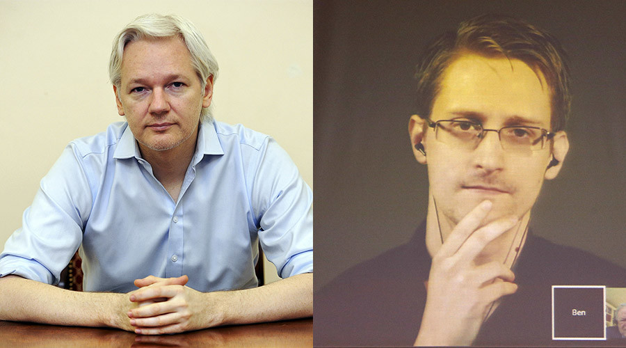 Assange says Snowden's escape to Russia was his idea