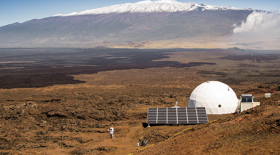 Year-long Mars simulation to begin in Hawaii"