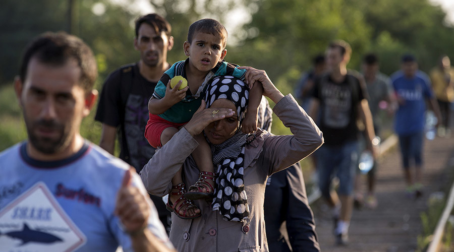 Hungarian border diary: Refugees following wealth looted from their lands