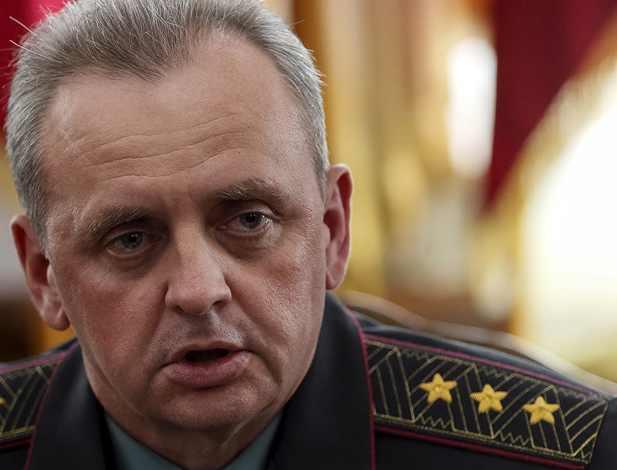 Colonel-general Viktor Muzhenko, Chief of the General Staff and Commander-in-Chief of the Armed Forces of Ukraine. © Gleb Garanich