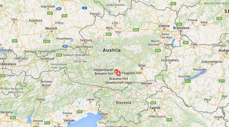 Plane crashes at Austrian airshow, pilot killed