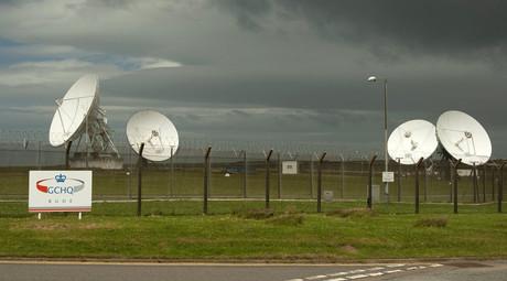 GCHQ's ECHELON facility at Bude, Cornwall © Kieran Doherty