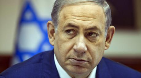 Israel's Prime Minister Benjamin Netanyahu. © Dan Balilty