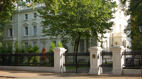 Russian Embassy 5 Kensington Palace Gardens, London. © Kbthompson