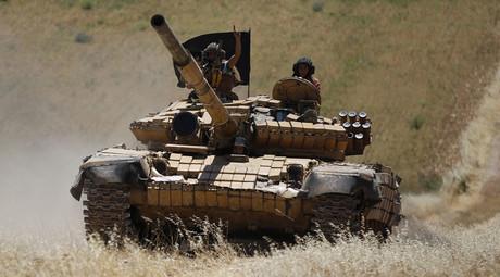 Islamist Syrian rebel group Jabhat al-Nusra. © Hamid Khatib