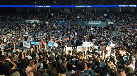 A Bernie Sanders campaign rally in Portland, Oregon, August 10, 2015 © berniesanders